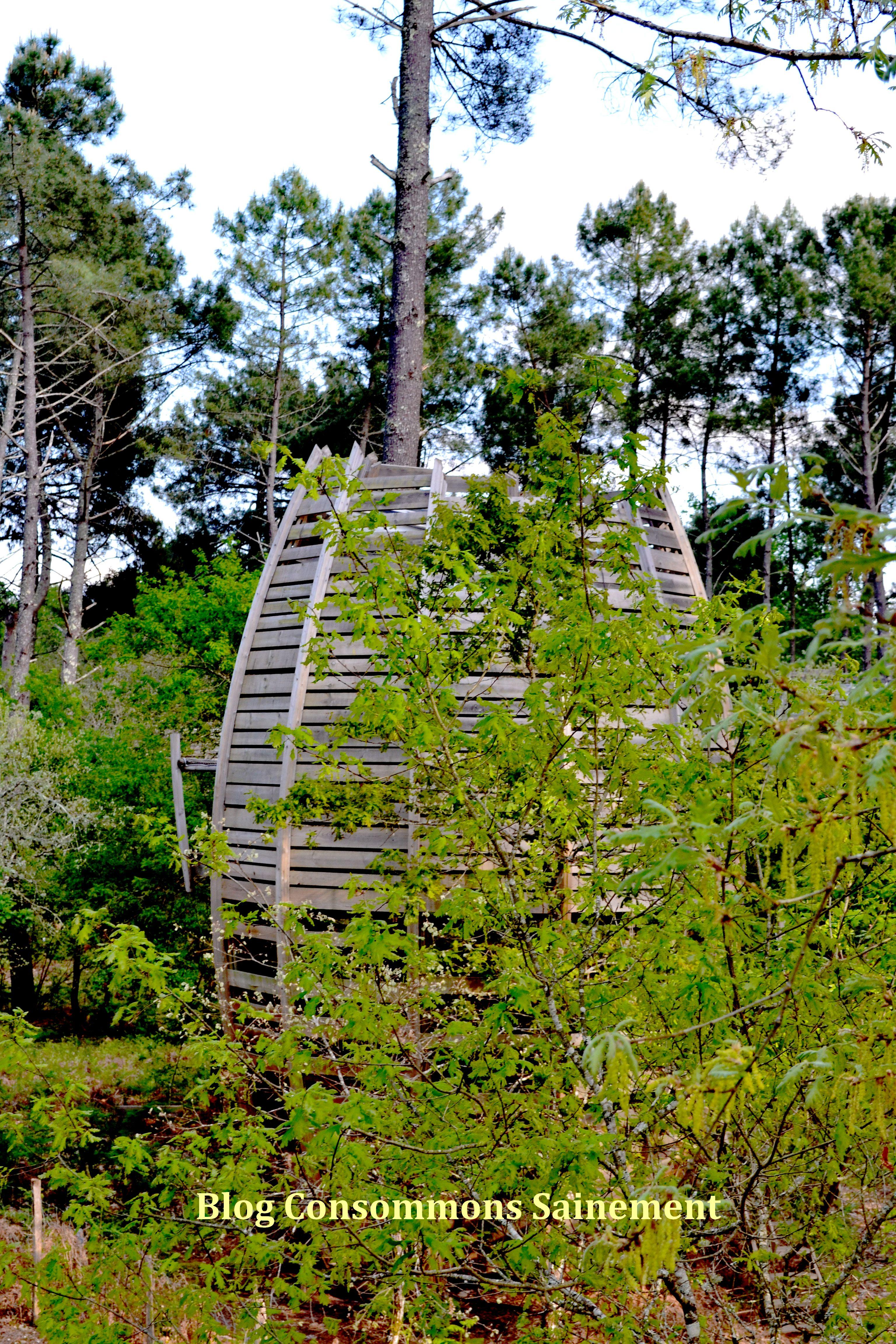 Cap cabanes le lieu id al pour des vacances vertes dans le sud ouest consommons sainement - Cabane dans les arbres avec jacuzzi sud ouest ...