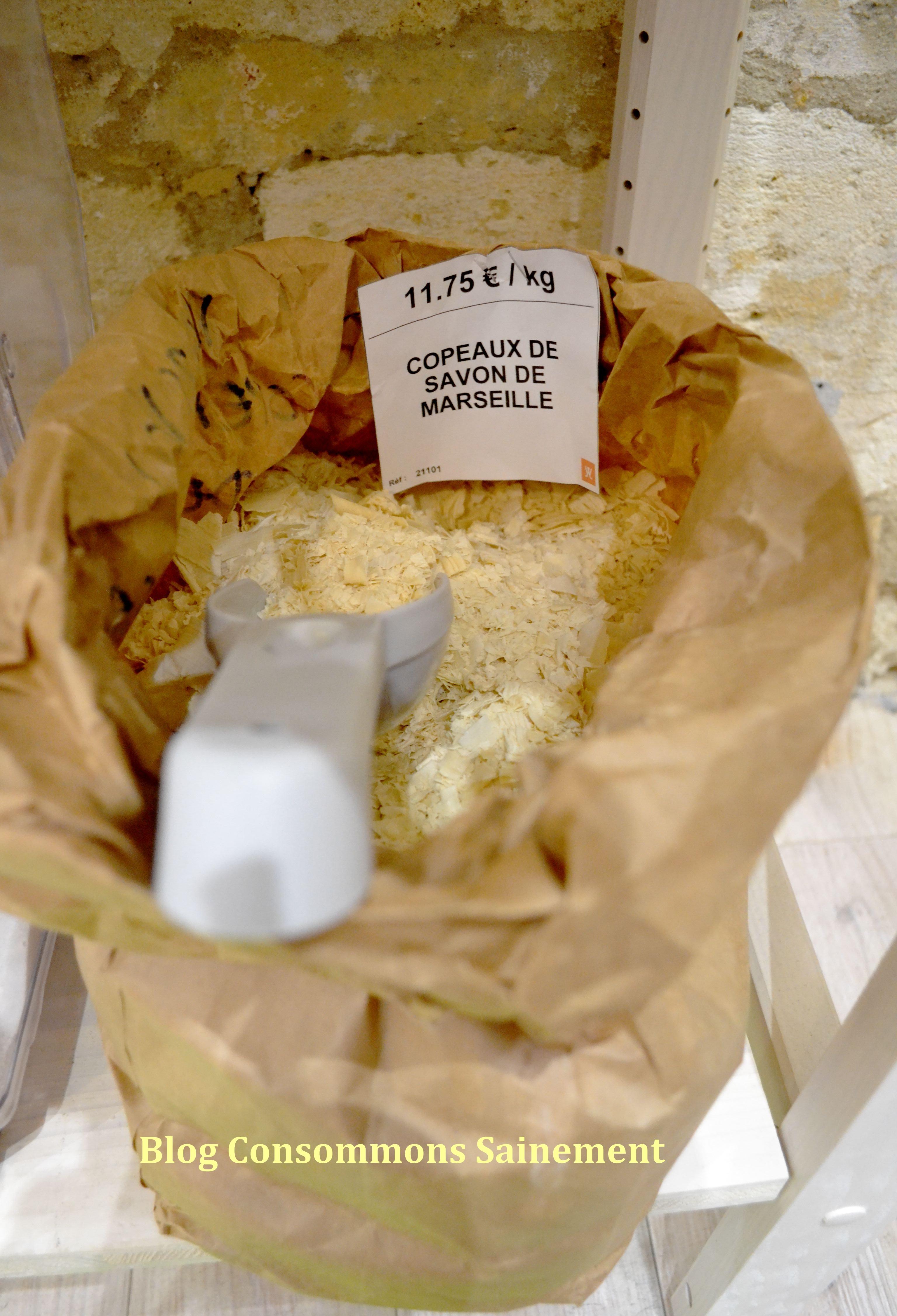 recette savon maison biocoop