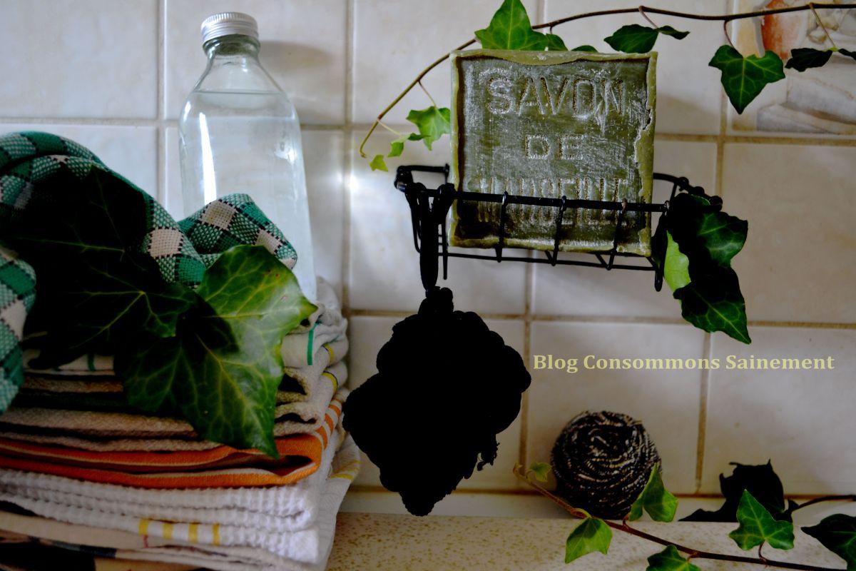 Faire son produit vaisselle et son éponge zéro-déchet et économiques facilement