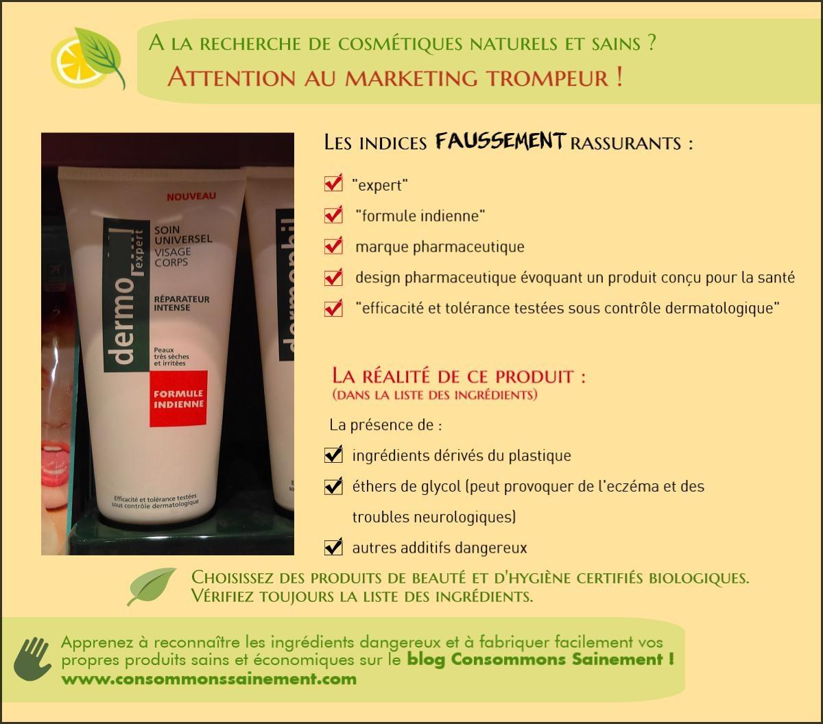 produits cosmétiques nocifs