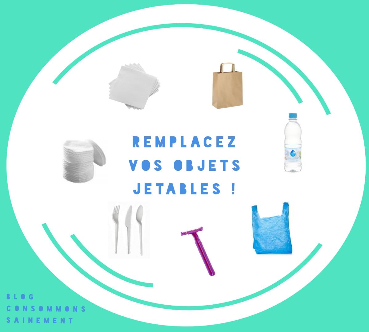 Réduire ses déchets (et ses dépenses) : guide ultra-simple pour remplacer ses objets jetables par leur version réutilisable